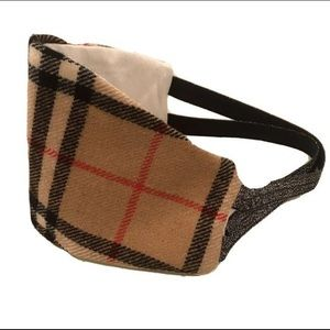 Scottish Tartan Plaid Wool Handmade Face Mask Kids